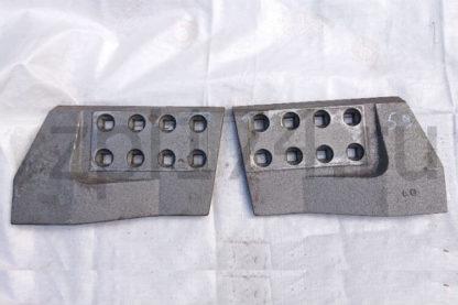Нож боковой 80-52-59 левый Б-10, Б-170 (Т-170, Т-130) 3